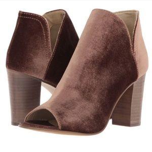 Steve Madden Kaitt heeled open toe Booties size 10